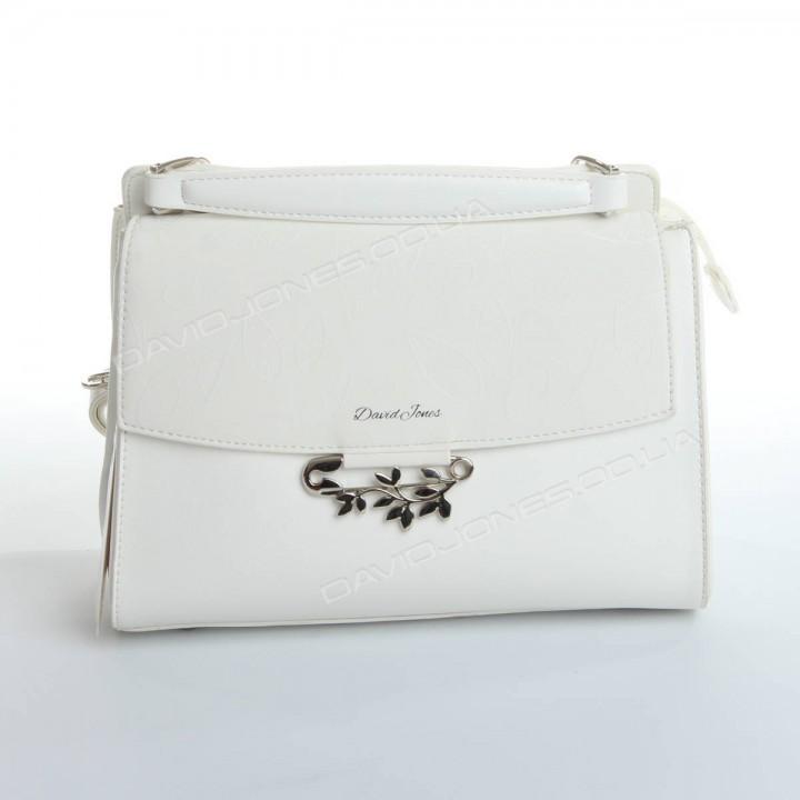 Клатч 6001-2T white