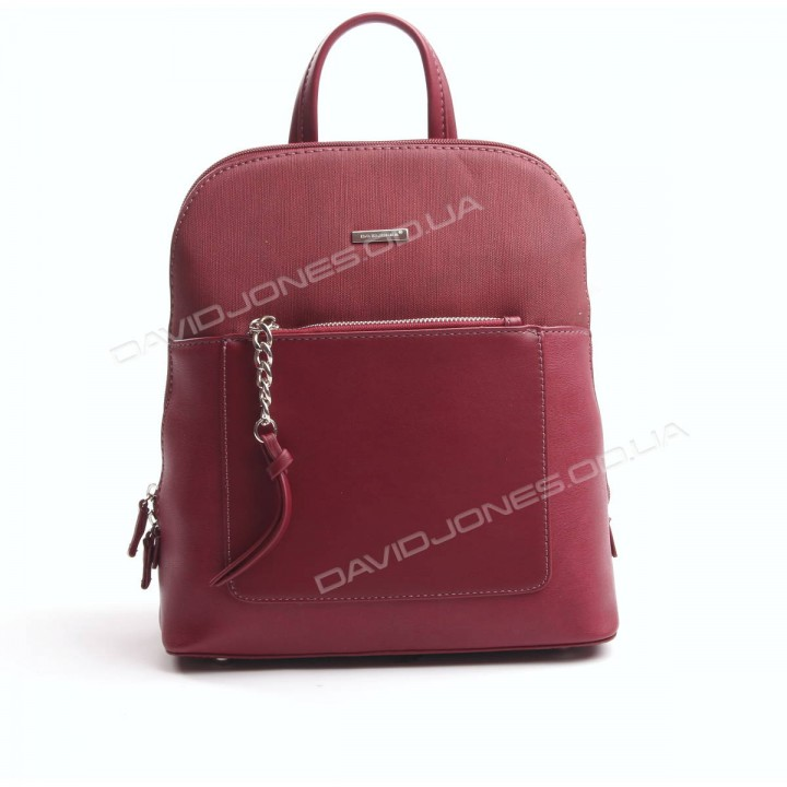 Жіночий рюкзак 6109-2T dark red