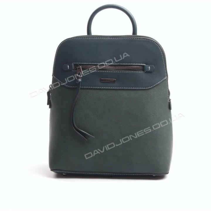 Жіночий рюкзак 6110-3T dark green