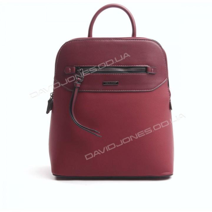 Жіночий рюкзак 6110-3T dark red