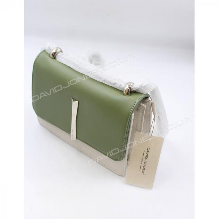 Клатч CM5015T beige-green