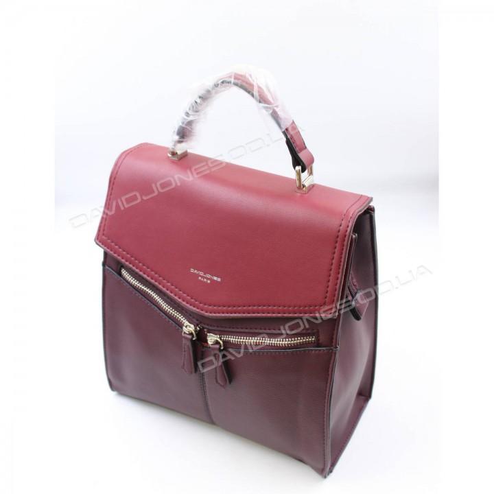 Жіночий рюкзак TD012 dark bordeaux