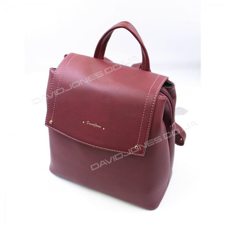 Жіночий рюкзак 6124-2T dark bordeauxe