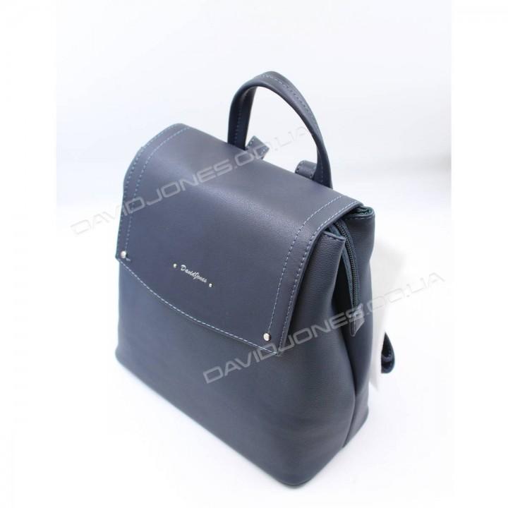Жіночий рюкзак 6124-2T blue