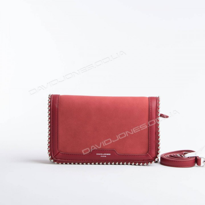 Клатч 6165-2T dark red