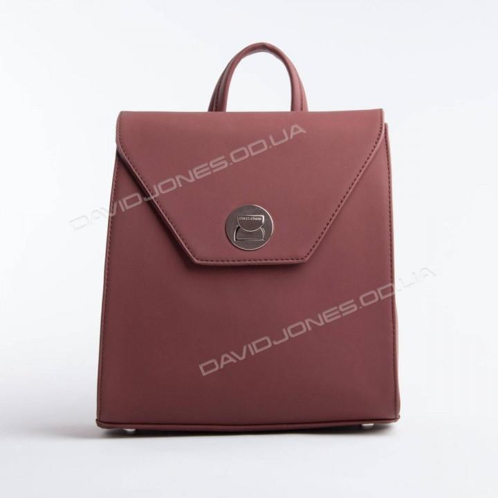 Жіночий рюкзак SF006 dark bordeaux