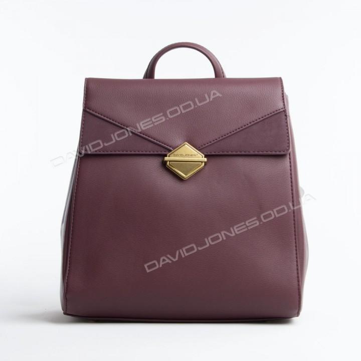 Жіночий рюкзак 6143-2T dark bordeaux