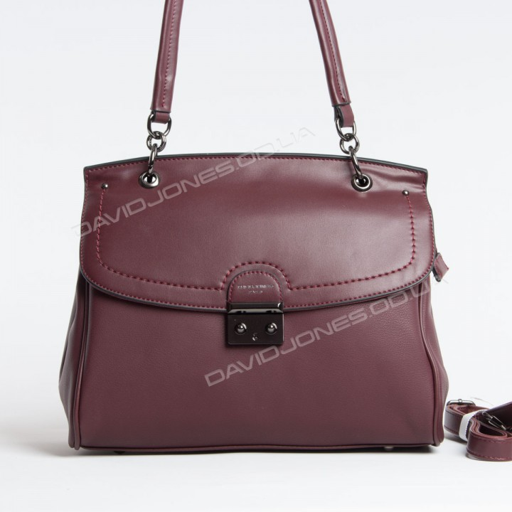 Жіноча сумка SK9239 dark bordeaux