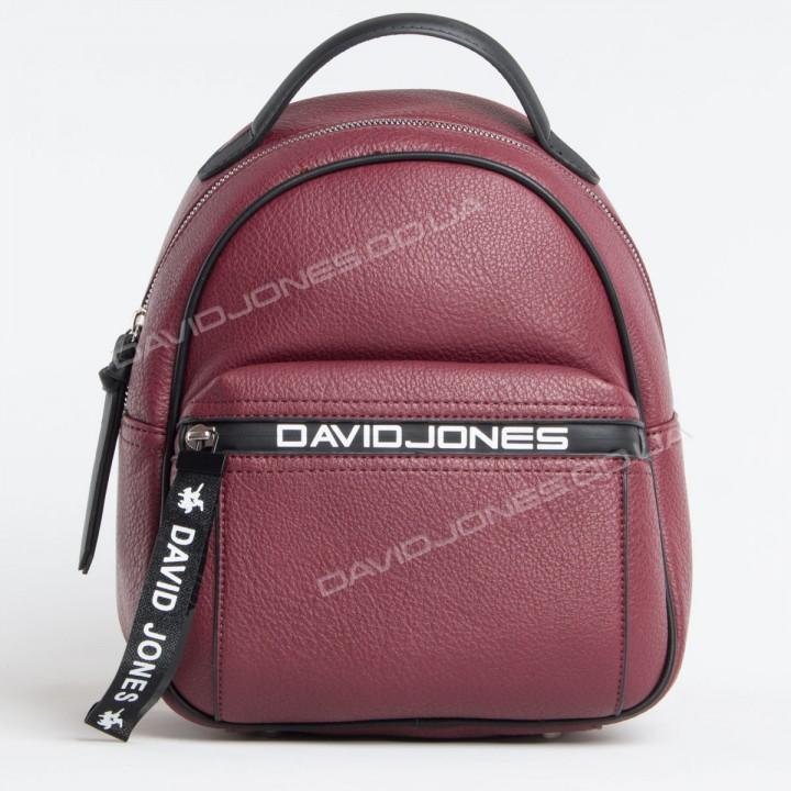 Жіночий рюкзак 6166-3T dark bordeaux
