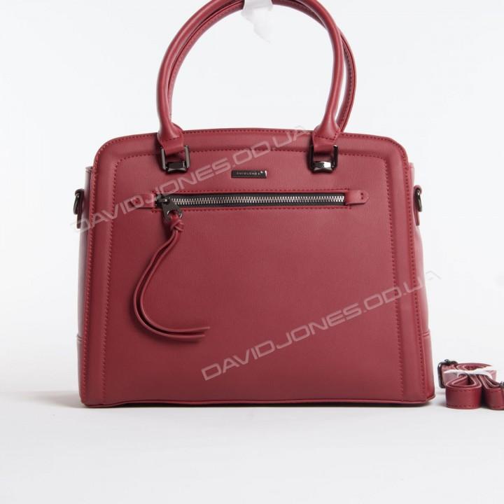 Жіноча сумка 6111-3T bordeuax