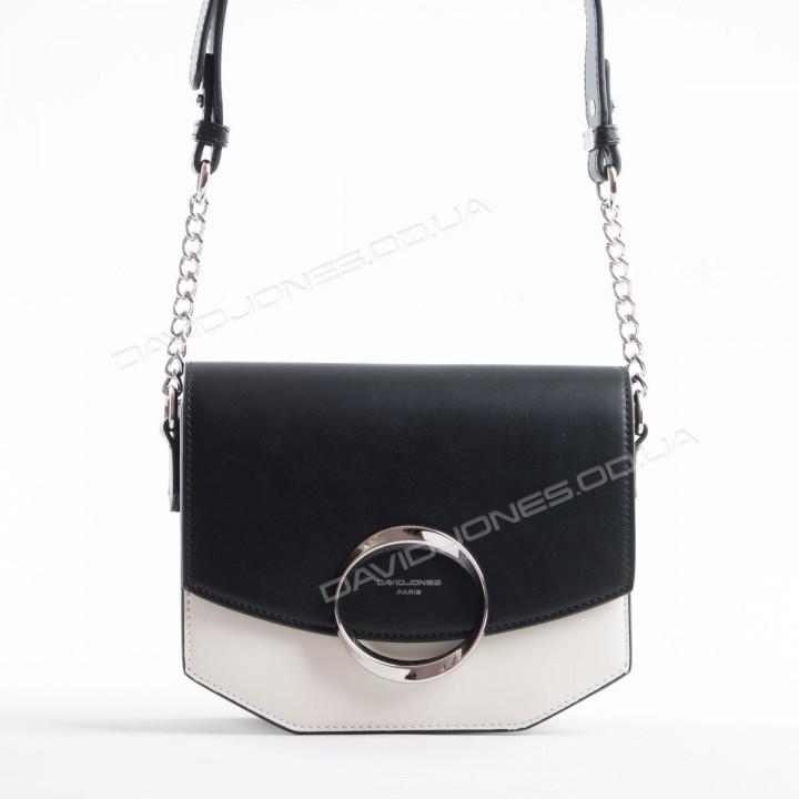 Клатч 6228-2 black-creamy white