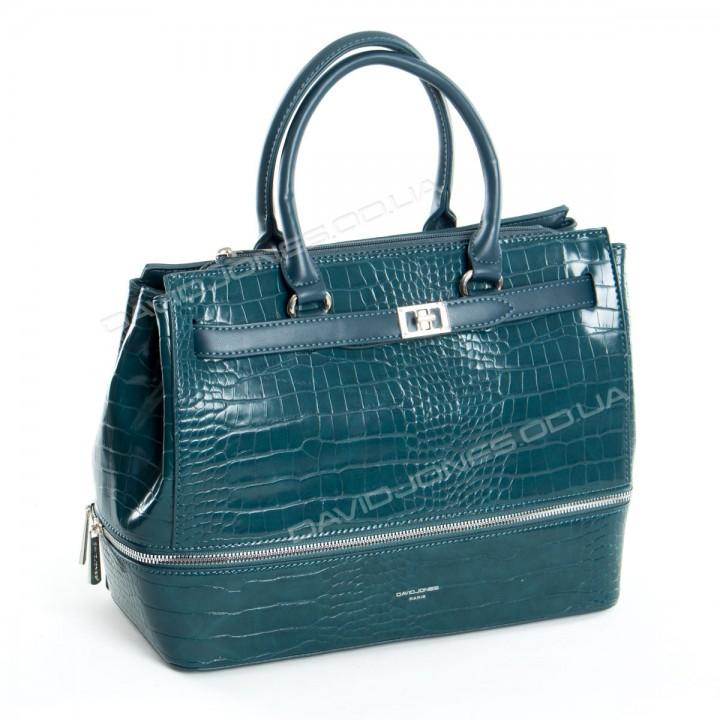 Жіноча сумка 6421-2T peacock blue