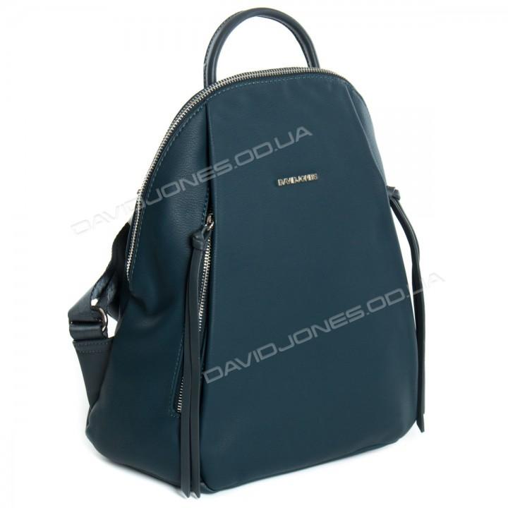 Жіночий рюкзак 6218-3T dark green