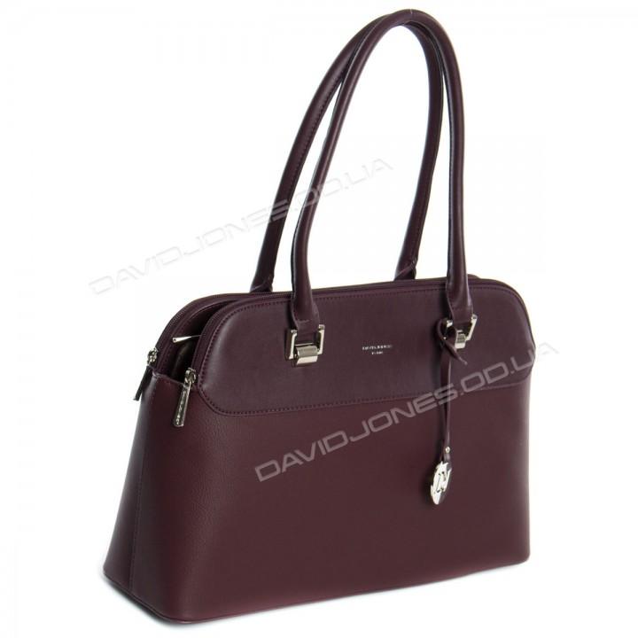 Жіноча сумка 5617-2T dark bordeaux