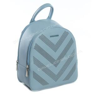 Жіночий рюкзак SF011 light blue
