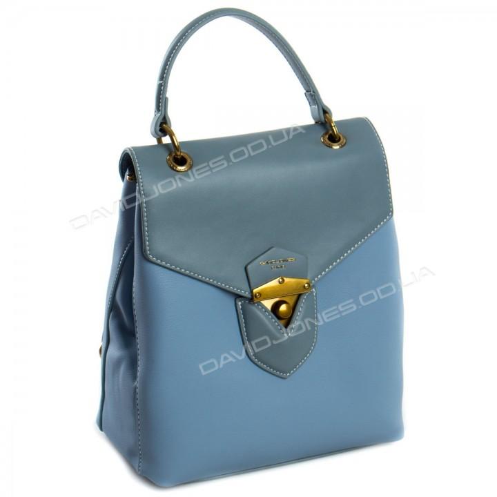 Жіночий рюкзак 6226-2T light blue