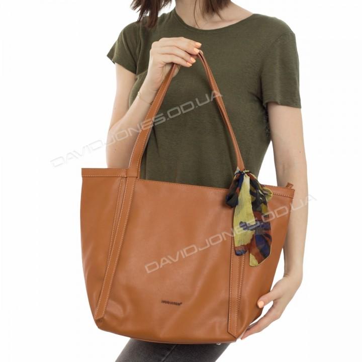 Жіноча сумка CM6101 cognac