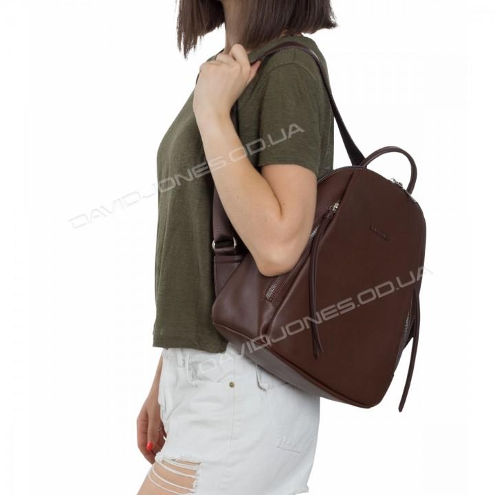 Жіночий рюкзак CM5848T dark brown