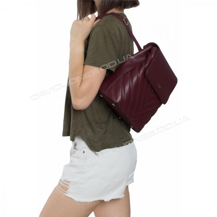 Жіночий рюкзак 6440-2T dark bordeaux