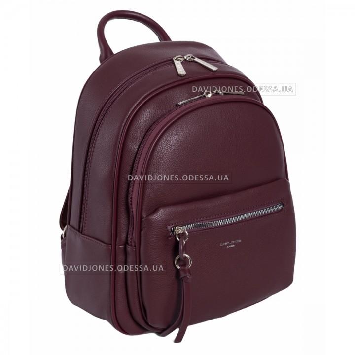 Жіночий рюкзак 6418-2T dark bordeaux