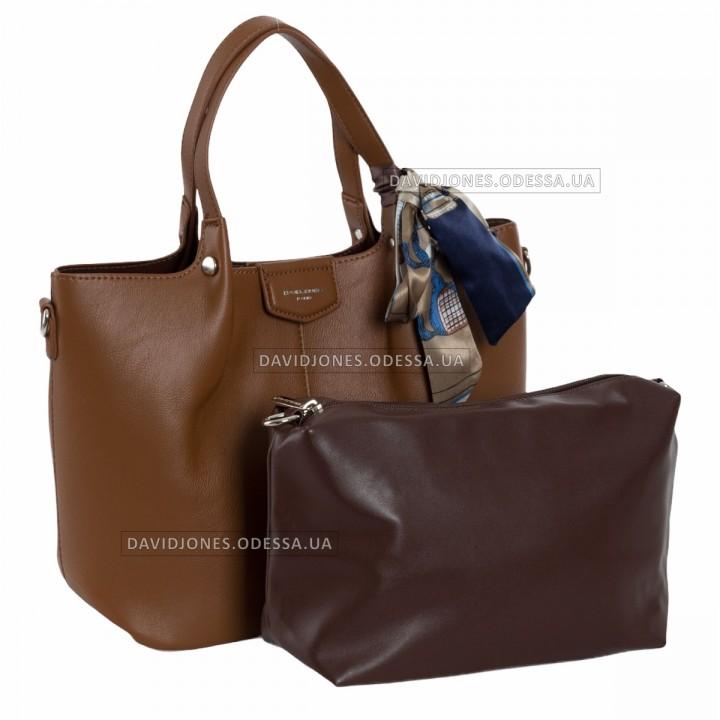 Жіноча сумка CM6238 cognac