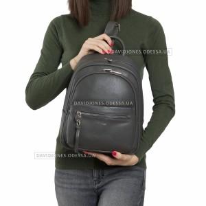 Жіночий рюкзак 6418-2T dark gray