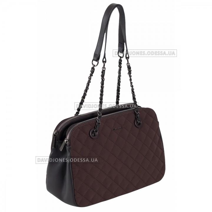 Жіноча сумка CM6292 dark brown