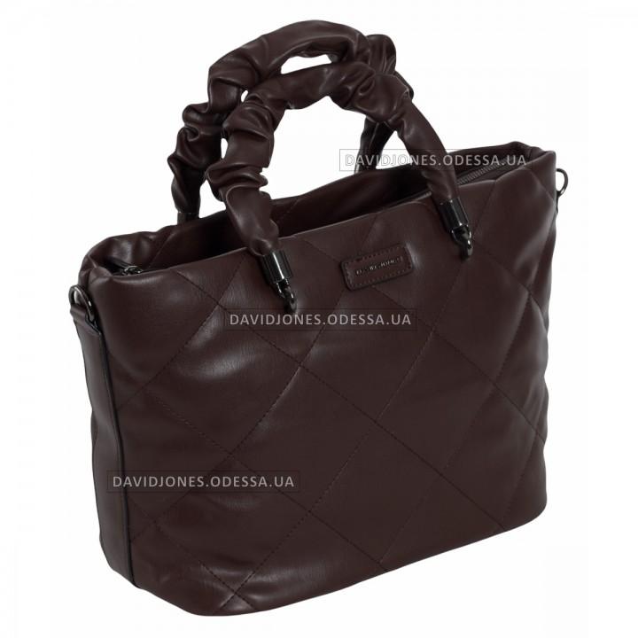 Жіноча сумка 6661-3T chocolate