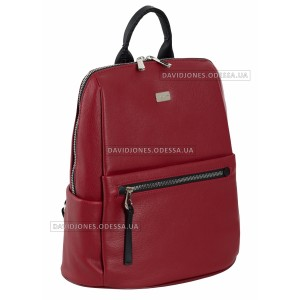 Жіночий рюкзак 6604-2T dark red