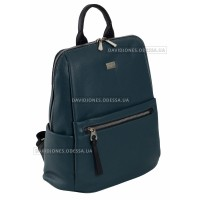 Жіночий рюкзак 6604-2T dark green